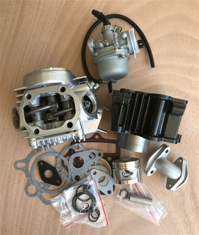 72cc Conversion kit: (50cc only)