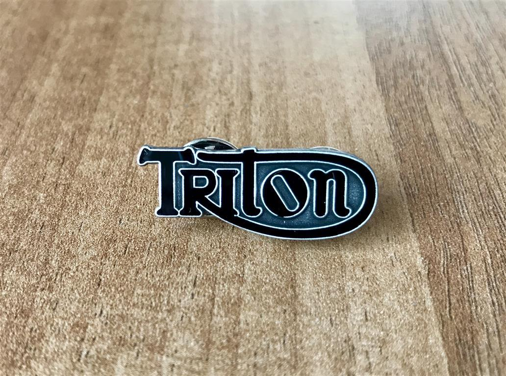 Triton Enamel Pin badge