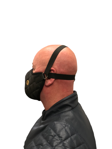 Triton leather face masks